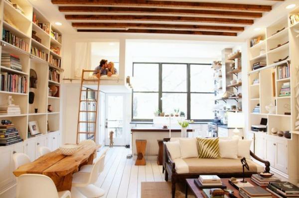 Loft bed bunk mezzanine bedroom 665x442 Kreveti na sprat: Komfor i trend