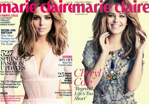 "Marie Claire Cheryl Cole May 2012 ""Marie Claire UK"": Vratila se Cheryl Cole"