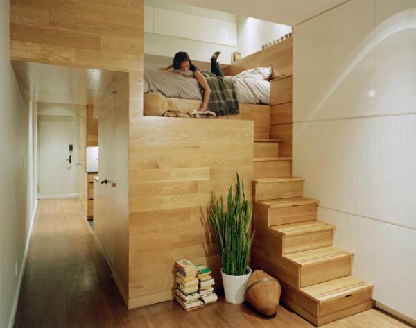 Mezzanine bed structure 665x524 Kreveti na sprat: Komfor i trend