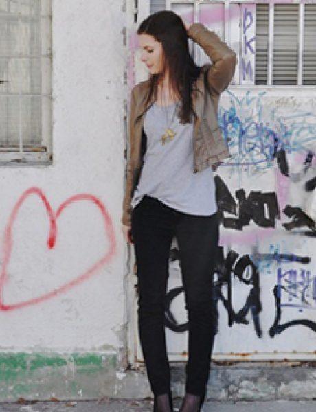 Modni blogovi: Džins i kožne jakne