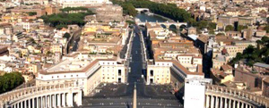 Trk na trg: Piazza San Pietro, Rim
