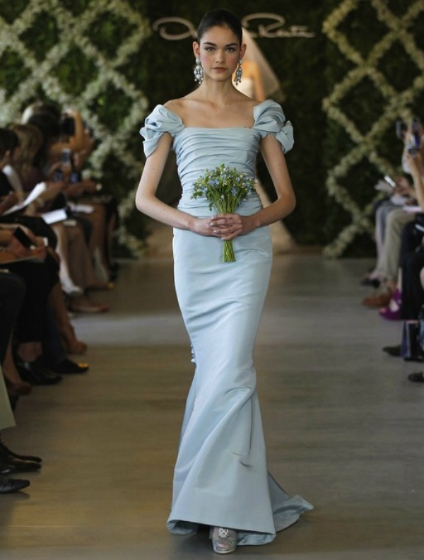 Oscar de la Renta bridal wear New York Bridal Week Nedelja venčanja u Njujorku