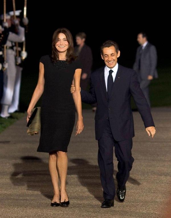 SLIKA 8 Predsedniku smeta razlika od 8 cm i zbog toga Karla  esto nosi ravnu obu u Da li je visina zaista važna?
