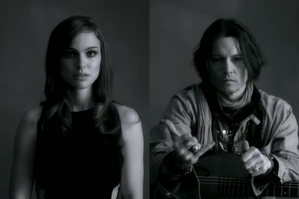 Slika 1 Natali i Dzoni Dep Paul McCartney: Holivudske zvezde u novom spotu