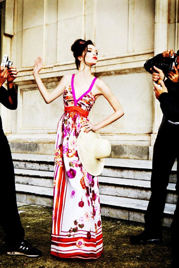 Slika 11 Alberta Feretti for Macys: Mediteranska moda