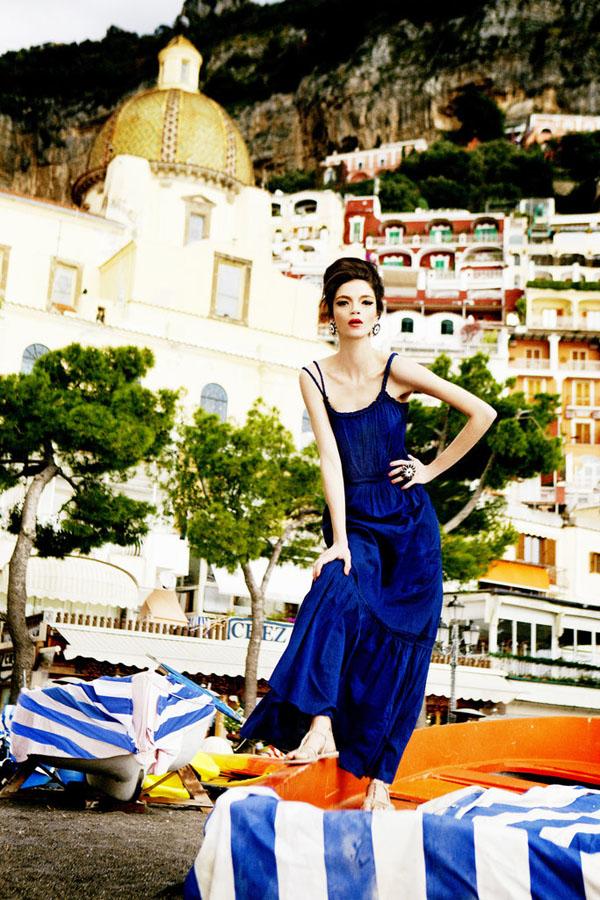 Slika 2 Alberta Feretti for Macys: Mediteranska moda