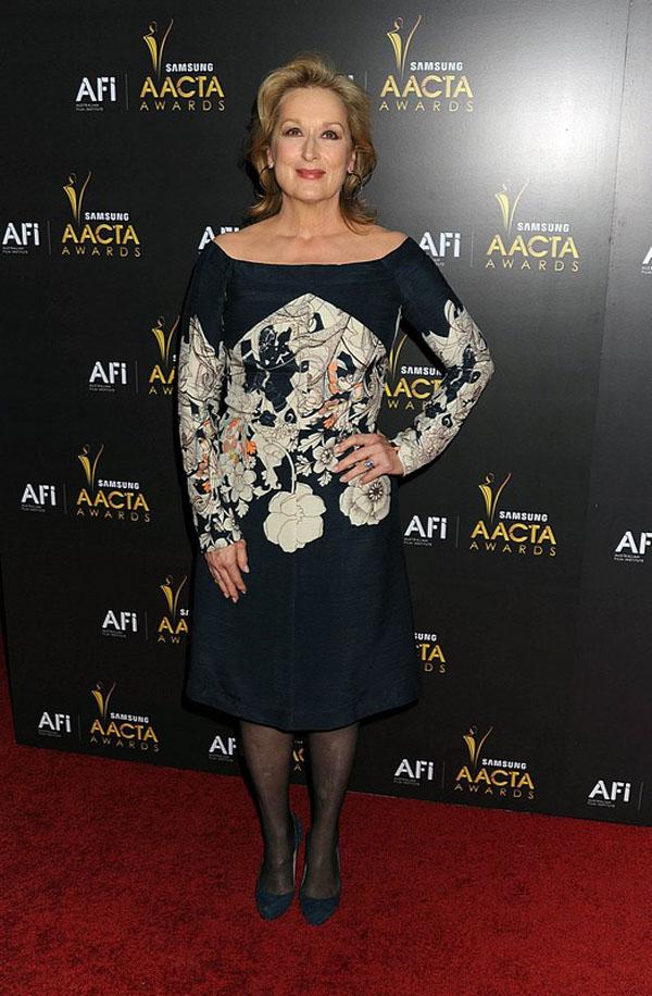 Slika 3 Cacharel 10 odevnih kombinacija: Meryl Streep