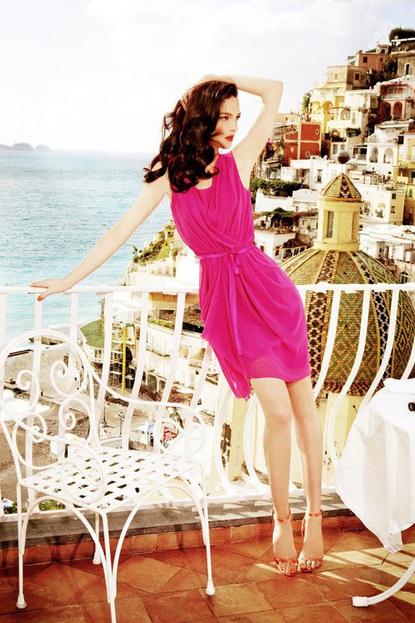 Slika 31 Alberta Feretti for Macys: Mediteranska moda