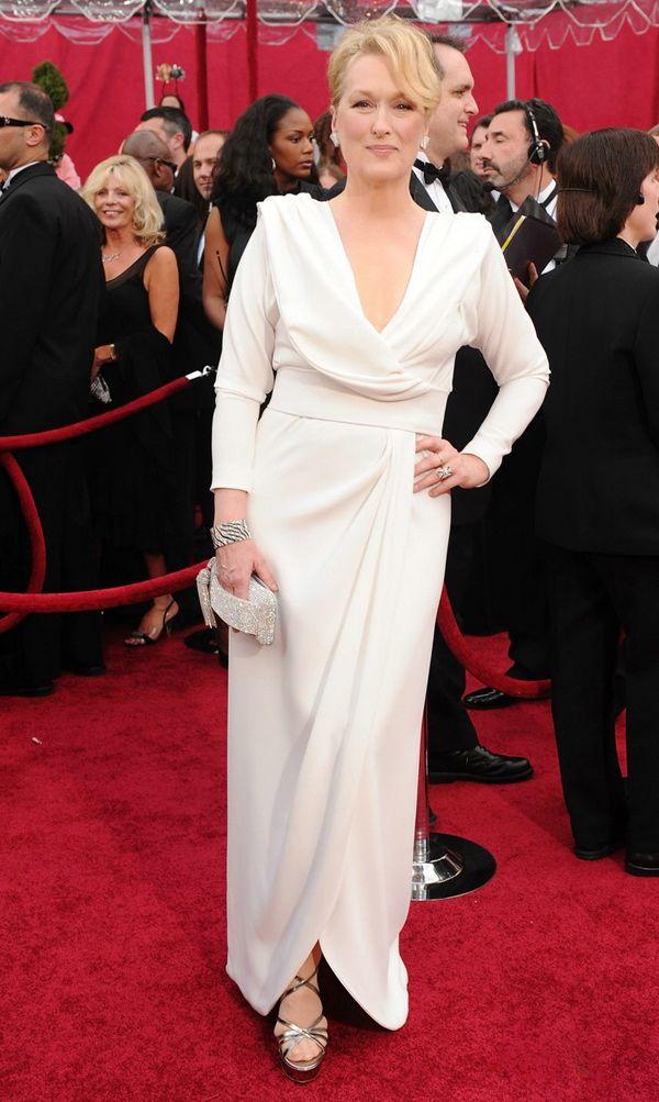 Slika 7 Chris March 10 odevnih kombinacija: Meryl Streep