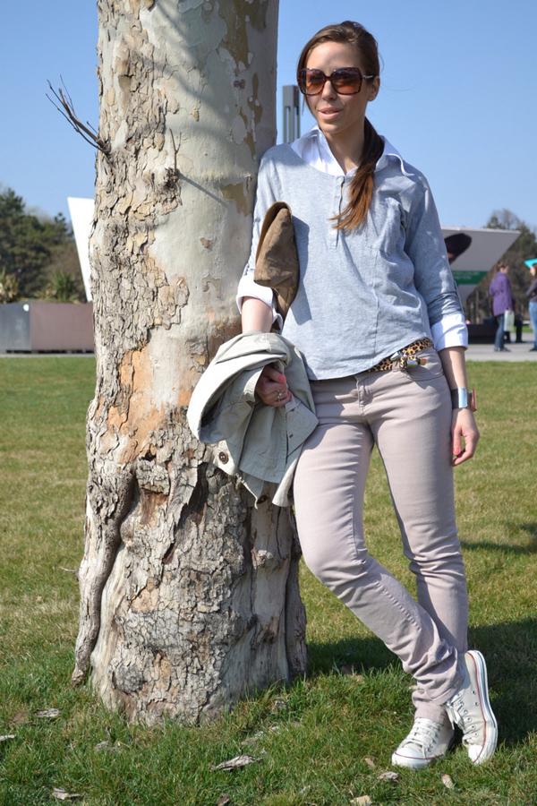 Titina Modni blogovi: Sav taj pastel i džins