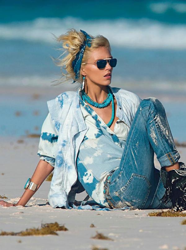 anja paris 5 Vogue Paris: Sav taj džins