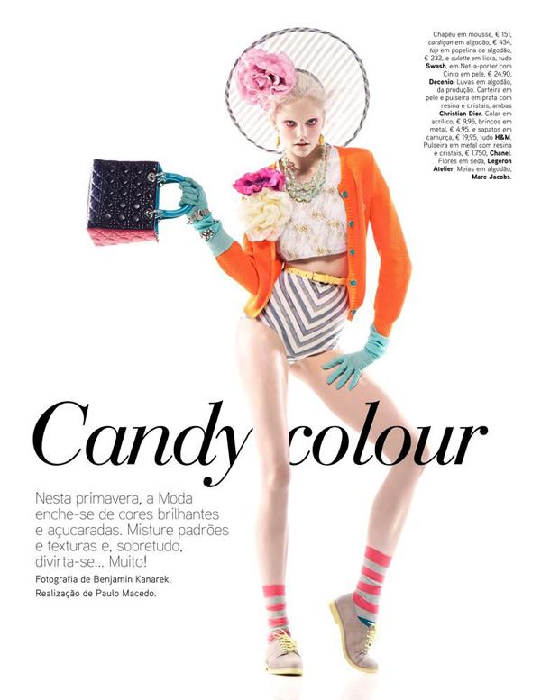 dani 1 Vogue Portugal: Obojite odevne kombinacije