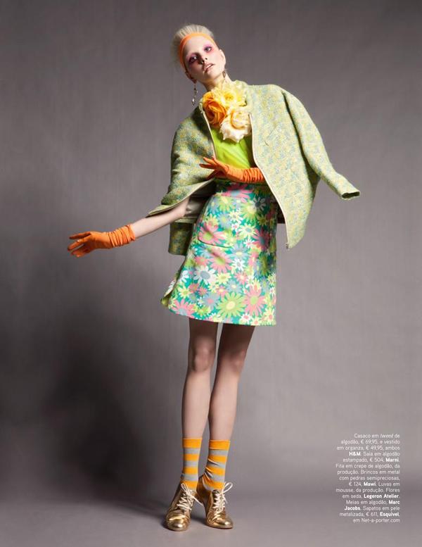 dani 3 Vogue Portugal: Obojite odevne kombinacije