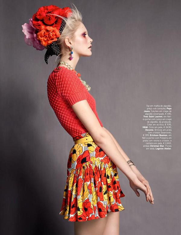 dani 5 Vogue Portugal: Obojite odevne kombinacije