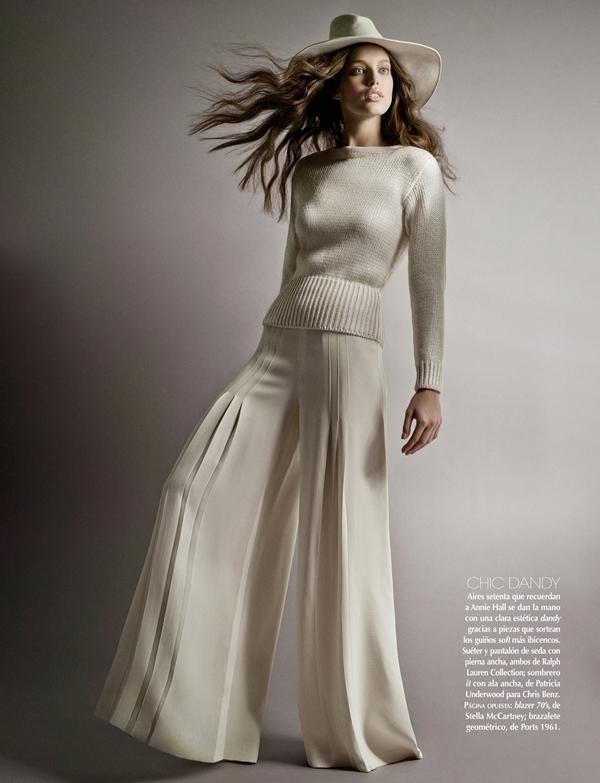 emily mexico 4 Vogue Mexico: Moć bele boje