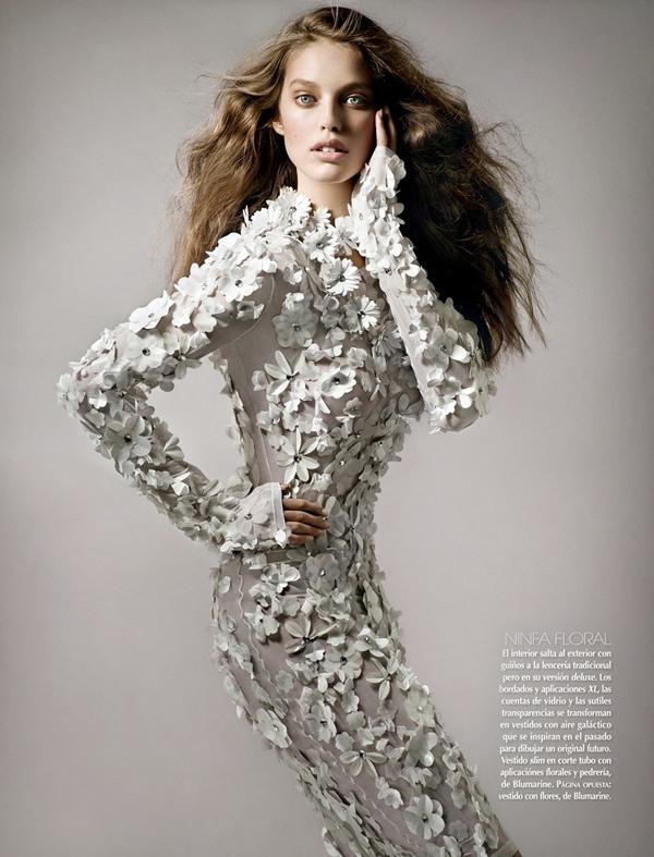 emily mexico 6 Vogue Mexico: Moć bele boje