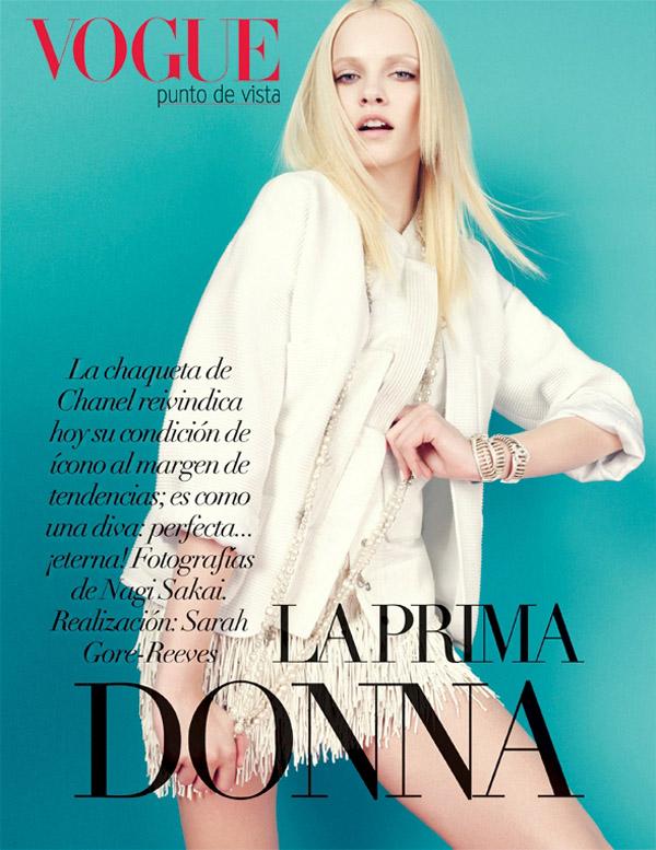 ginta mexico 1 Vogue Mexico: Plavokosa lepotica