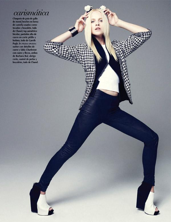 ginta mexico 2 Vogue Mexico: Plavokosa lepotica