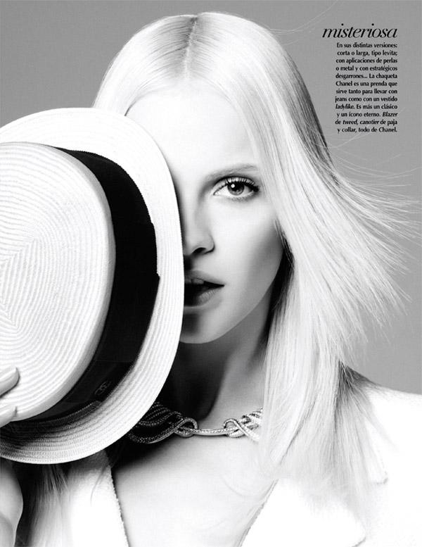 ginta mexico 3 Vogue Mexico: Plavokosa lepotica