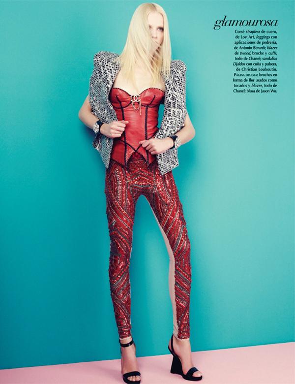 ginta mexico 7 Vogue Mexico: Plavokosa lepotica