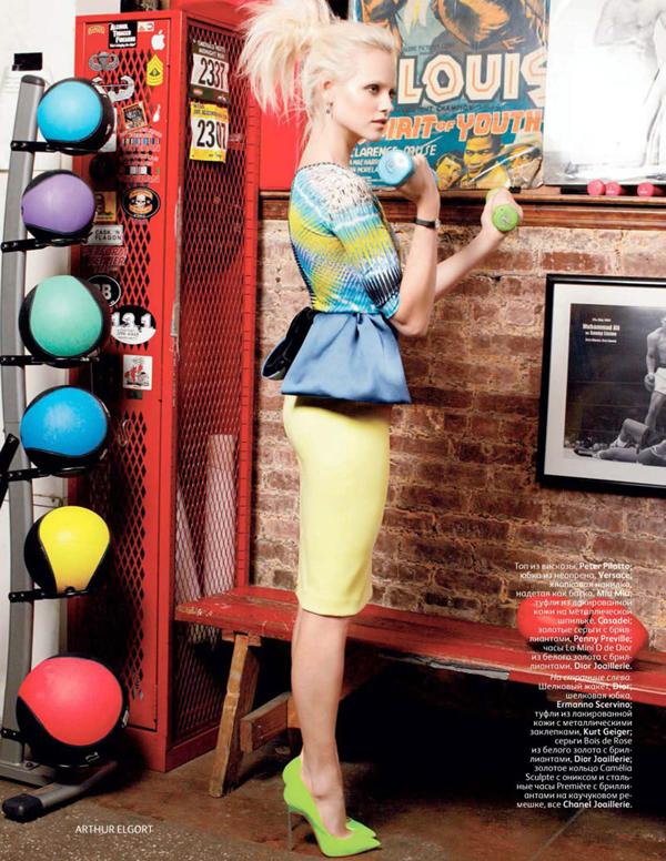 ginta russia 4 Vogue Russia: U top formi