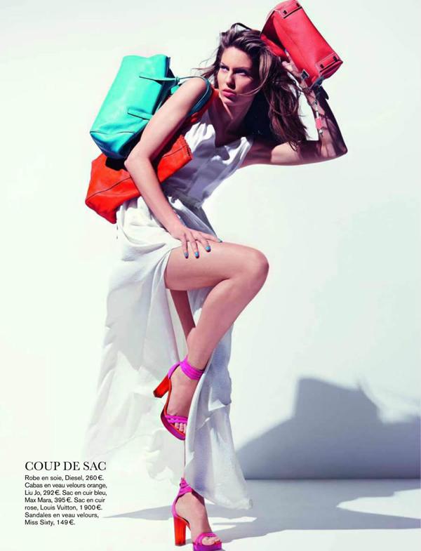 glamour france 3 Glamour France: Torbe u jarkim bojama