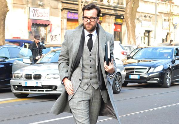 gqmenmilan37 Street Style: Dame, upoznajte džentlmene