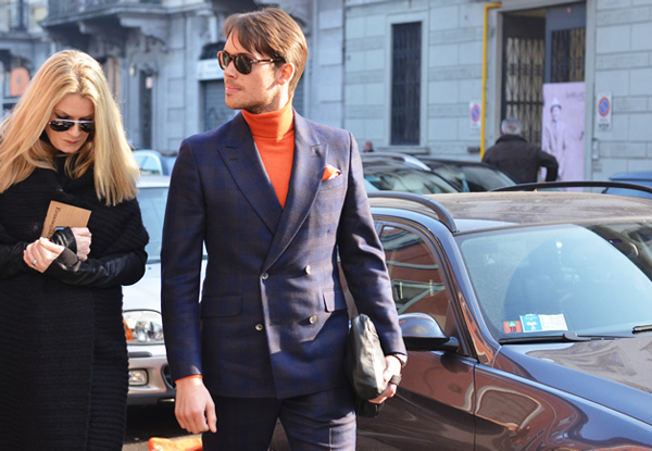 gqmilan4 Street Style: Dame, upoznajte džentlmene