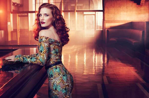 jessica italia 4 Vogue Italia: Glamur na delu
