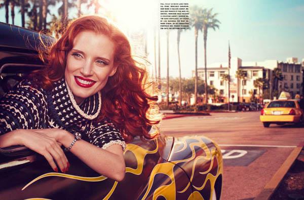 jessica italia 7 Vogue Italia: Glamur na delu