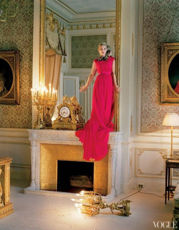 """katemossvogueusapril201213 picnik """"Vogue US"""": Romantična pariska bajka"""