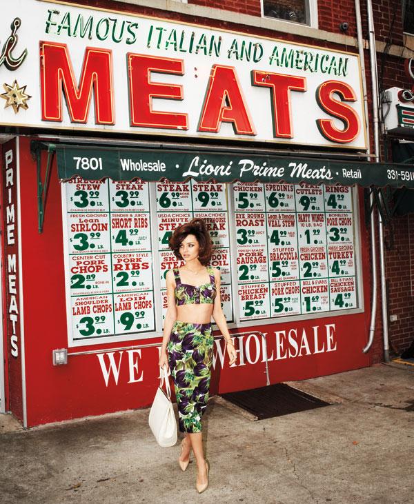 miranda bazaar 3 Harper's Bazaar US: Moda koja inspiriše