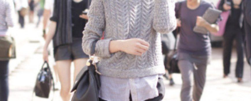 Street Style: Liu Wen