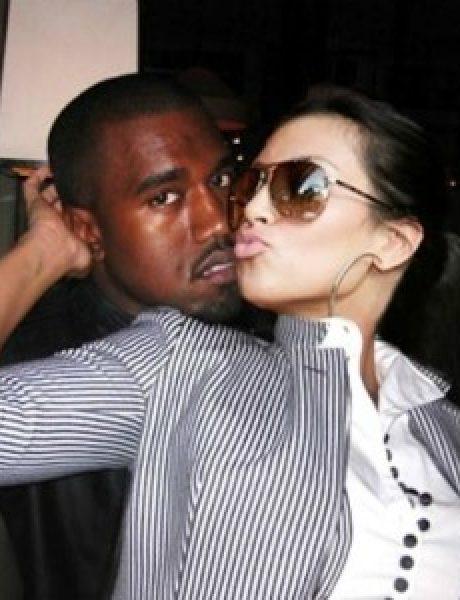 Kanye i Kim, to su srca dva