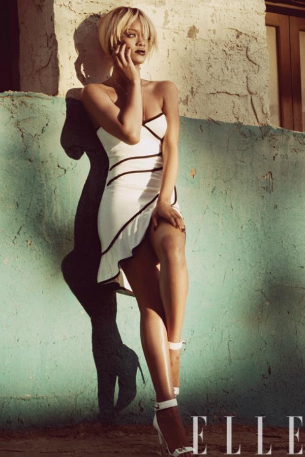 "rihanna elle sub cover 0512 ""Elle US"": Rihanna i kubanske noći"