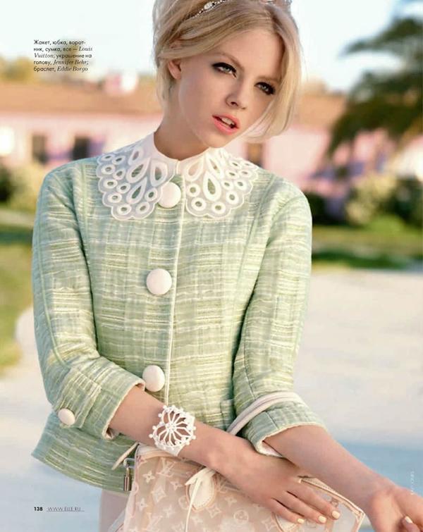 skye elle 2 Elle Russia: Dama sa stilom