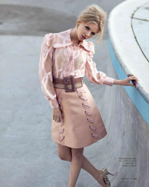 skye elle 3 Elle Russia: Dama sa stilom