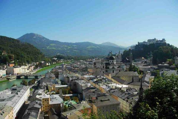 slika 118 Salcburg: Grad kao iz bajke