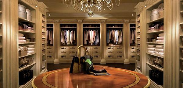 slika 221 Hedonistički enterijer: Luksuzni garderoberi