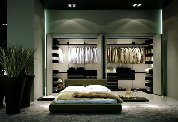 slika 76 Hedonistički enterijer: Luksuzni garderoberi