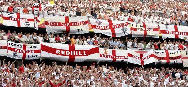slika br.2 Engleska: Kolevka fudbalskih navijača