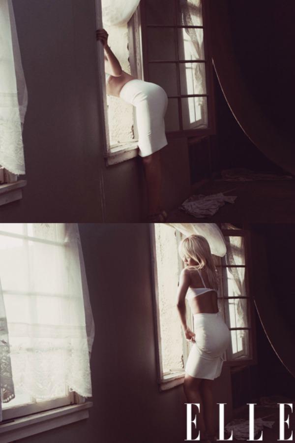 "white skirt ""Elle US"": Rihanna i kubanske noći"