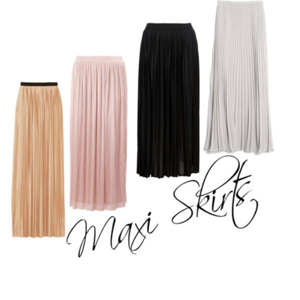 2. Maksi suknje u svim bojama Prolećni trendovi koje morate imati u svom ormanu