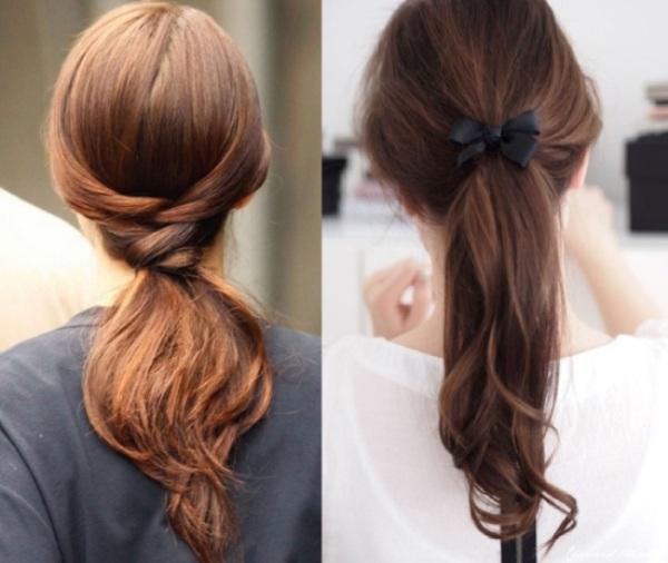 2. Zavezana kosa ne mora biti dosadna Najefektnije maturske frizure
