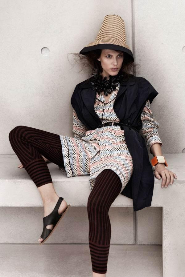 619 Marni za H&M: Pruge i printovi