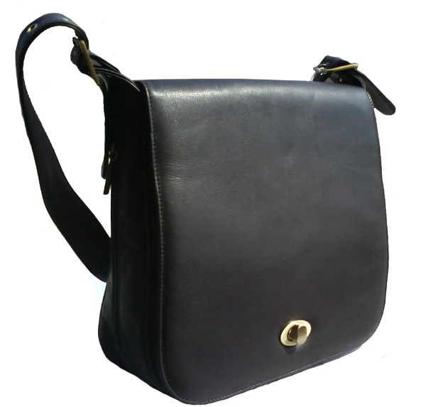 7669Black Leather Bag Stil dana: Miranda Kerr