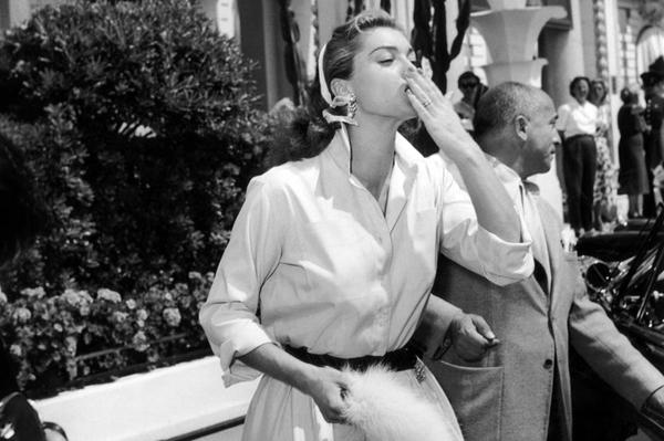 Actress Esther Williams at the Cannes Film Festival Fotografija i moda: Dodir zlatnog Holivuda