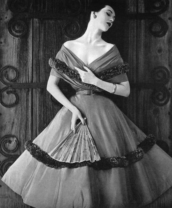 American model Dovima. Fotografija i moda: Dodir zlatnog Holivuda