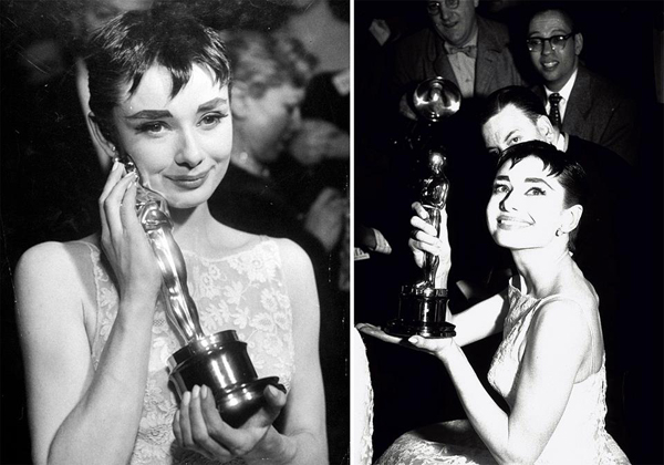 Audrey Hepburn at the 26th Annual Academy Awards 1954. Fotografija i moda: Dodir zlatnog Holivuda