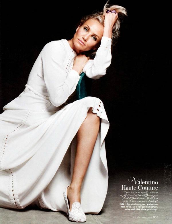 "Cameron Diaz InStyle US ""InStyle US"": Cameron Diaz i visoka moda"